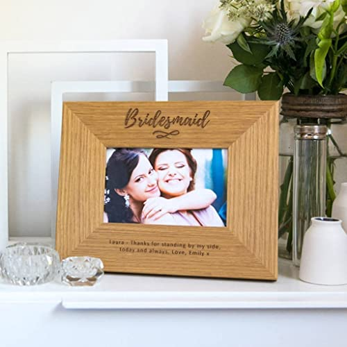 Amazoncom Bridesmaid Photo Framemaid Of Honor Picture Frame