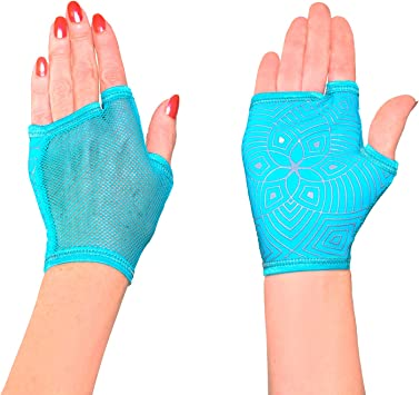 Amazon.com: OCOCOcolors - Guantes para yoga, pilates, baile ...