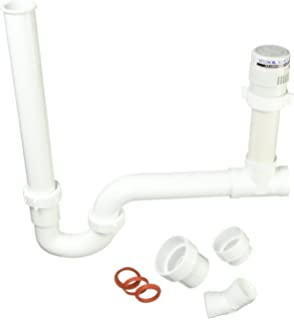 Pack 2- White Integrated Trap and Air Admittance Valve Studor 20396 Trap-Vent 1-1//2 Outlet