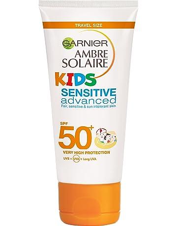 Garnier ambre solaire, factor de protección solar 50 - protección solar - resisto cara y