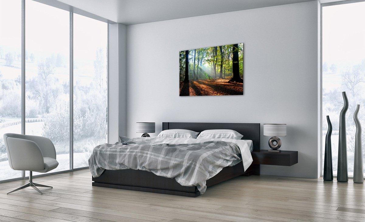 Impression sur Verre GAA70x50-0136 Motif Moderne D/écoration Image sur Verre Tableaux pour la Mur 70x50cm prete a Suspendre 0136 Un /él/ément Tableau en Verre Pret a accrocher
