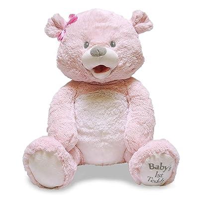 Baby's 1st Singin Teddie Pink: Toys & Games