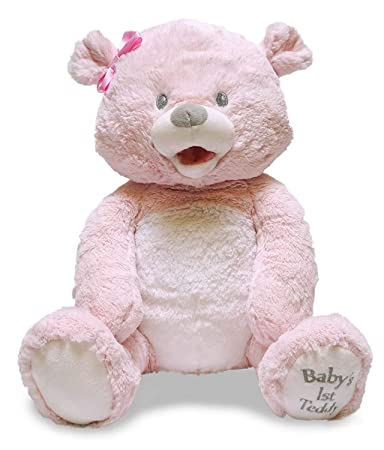 Aurora World 12inch Yummy Bear Pink With Tags Baby Girl Gift for sale online