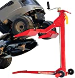 MoJack EZ Max - Residential Riding Lawn Mower Lift, 450lb Lifting Capacity, Fits Most Residential & Ztr Mowers, Folds…