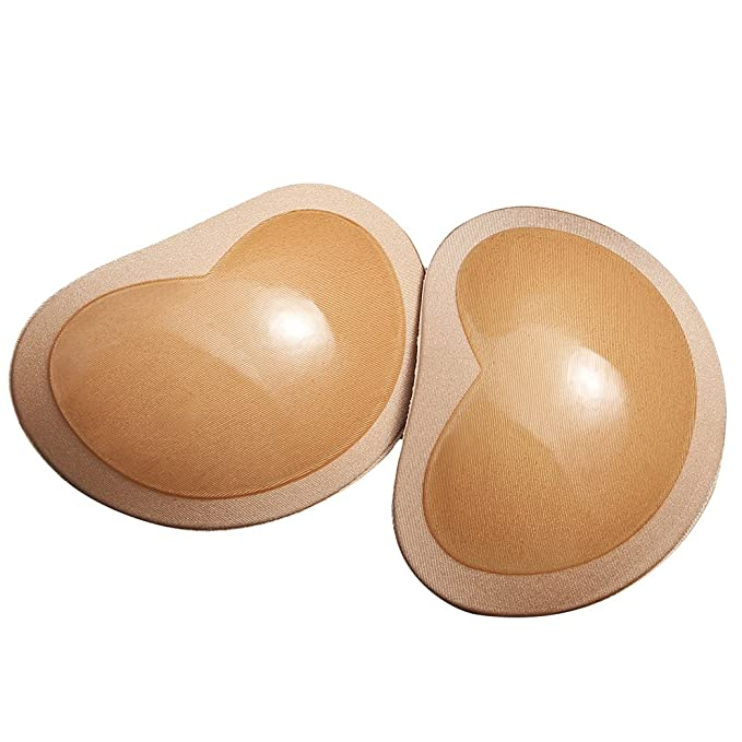 11f749c329647 Silicone Adhesive Bra Pads Inserts   Removable Push Up Sticky Bra Pad Breast  Enhancer for Women
