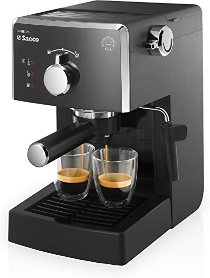 Saeco HD8423/11 - Máquina de café espresso manual, 950 W, color negro: Amazon.es: Hogar