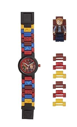 LEGO Watches and Clocks Boys Jurassic World Owen Quartz Plastic Watch, Color: