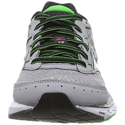 ... Mizuno Wave Inspire 11 Running Shoes - SS15 - 15 - Grey ...