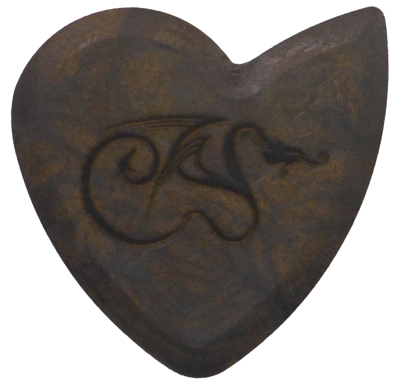 Hardened Dragon's Heart Guitar Pick - 1500 Hours of Durability, 2.5mm Thickness, Single Pack