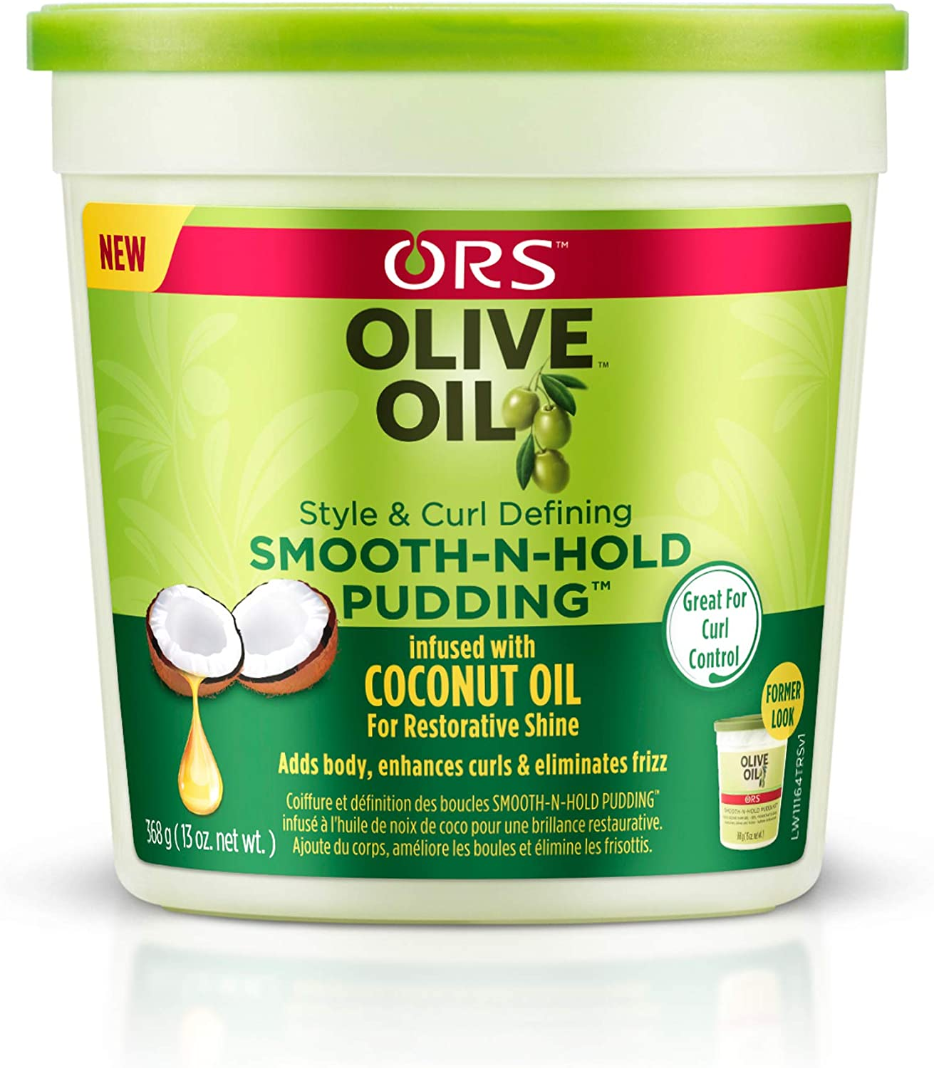 Organic Root (ORS) Ors Oliva Smooth Pudding 13 Ounce Tub (384ml) (3 Pack)