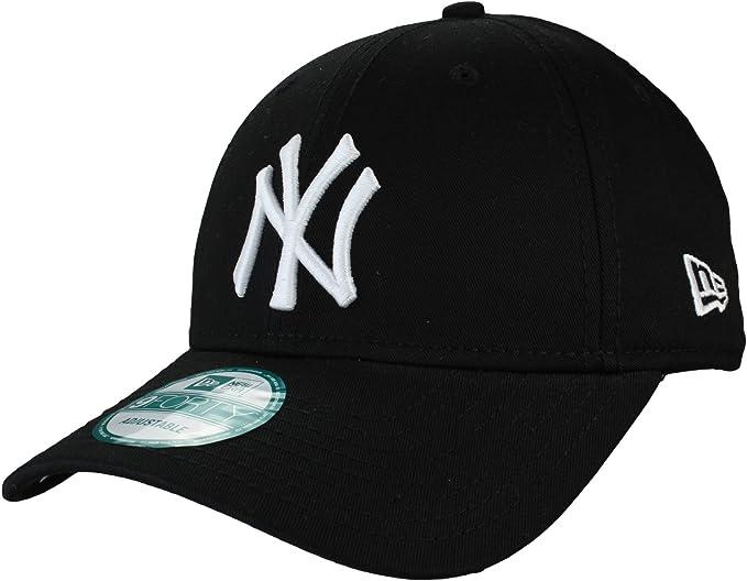 NEW York Yankees NEW Era 9Forty Regolabile CAP Taglia unica. grigio // bianco