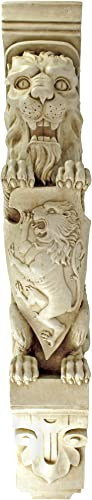 Design Toscano Manor Lion Wall Sculpture