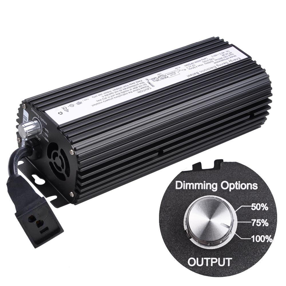 Yescom 400W HPS MH Digital Electronic Dimmable Ballast Grow Light