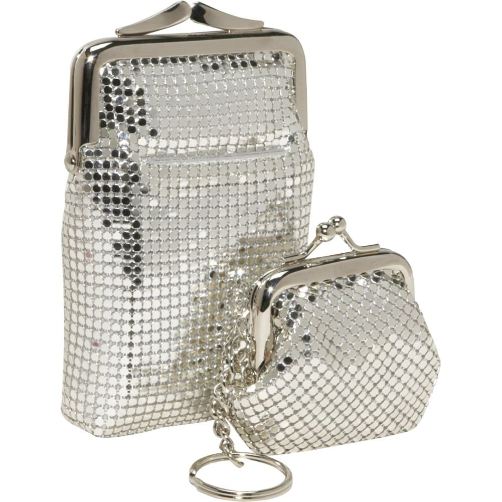 Whiting and Davis Classic Cigarette Case and Coin Pouch Key Ring by Whiting & Davis (Image #1)