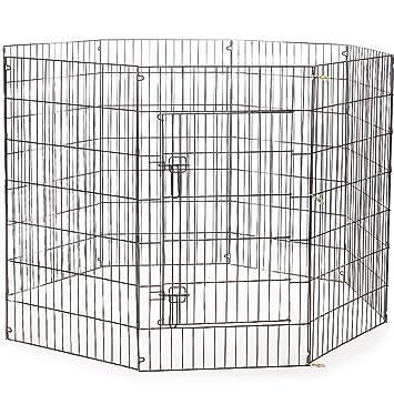 proselect everlasting exercise dog pen u2013 durable in secure pen for dog shows or backyard