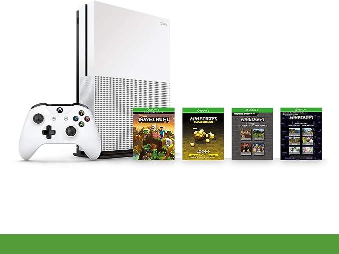 Xbox One S 1TB Minecraft Creators Pack + 1M GamePass [Bundle ...