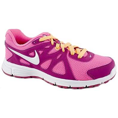 442f3fb3b1bae NIKE Ladies Revolution 2 Pink Active Trainers Size 9  Amazon.co.uk ...