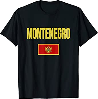 ScudoPro Montenegro Flag Technical T-Shirt for Men and Women