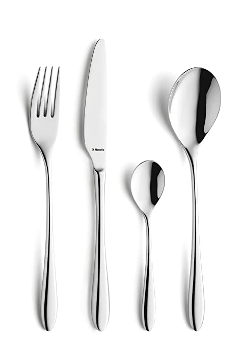 Amazon.com: Amefa Cuba Cutlery Canteen, 32 Piece: Kitchen ...