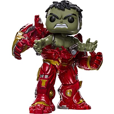 Funko Pop! Marvel Avengers Infinity War Hulk #306 (Busting out of Hulkbuster): Toys & Games