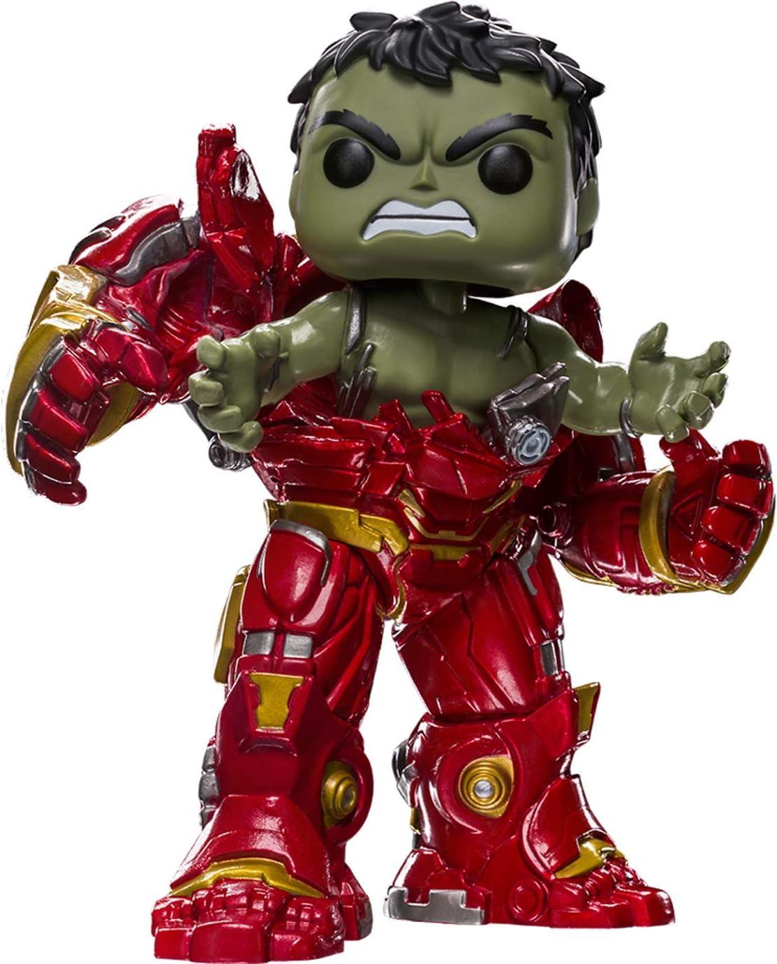 Funko Pop! Marvel Avengers Infinity War Hulk #306 Busting out of Hulkbuster Exclusive: Amazon.es: Juguetes y juegos