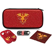 Nintendo Switch Pokemon Charizard Element Starter Kit with Travel Case, Power Cable & Cleaning Cloth by PDP, 500-090