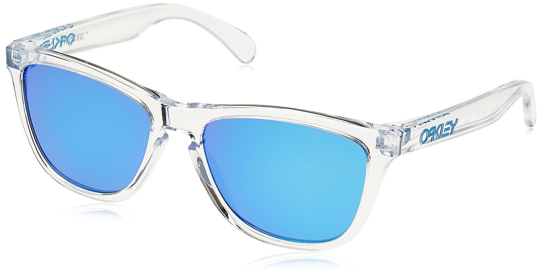 Oakley Frogskins 9013A6, Gafas de Sol para Hombre, Polished Clear, 55