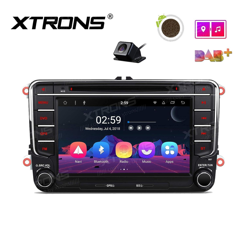 Xtrons 7 Pantalla táctil Auto Radio Reproductor de DVD Android 8.1 ...