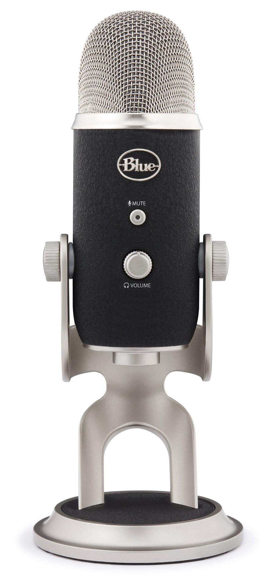 Blue 1967 Yeti Pro USB Condenser Microphone, Multipattern