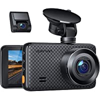 APEMAN 2K &1080P Dual Dash Cam, 2688x1520P max, Support 128GB, Front and Rear Camera for Cars with 3 Inch IPS Screen…