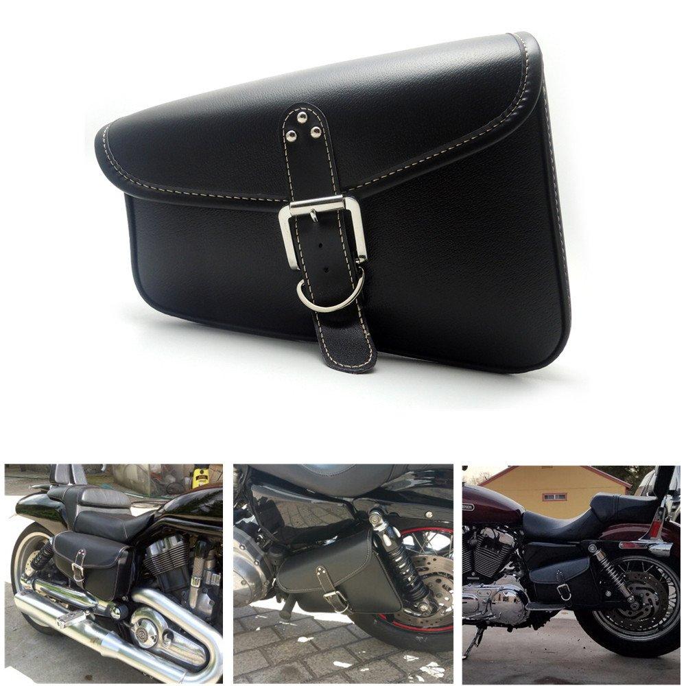Motorcycle Swingarm Bag Side Tool Bags for Sportster XL 883 1200 Softail Honda Shadow Night Rod Special Yamaha