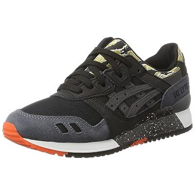 ASICS Unisex Adults' Gel-Lyte III Trainers, Black (Black/Black), 5 UK 39 EU: Shoes