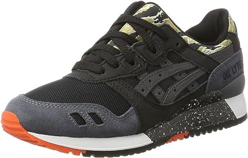 Asics Gel Lyte III, Sneakers Basses Homme, Noir (Black H7y0l