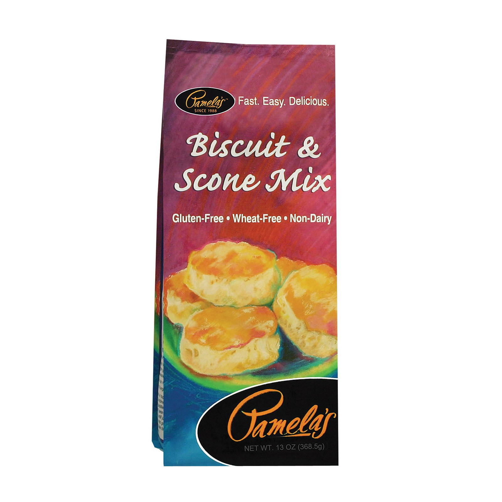 Pamela's Products Biscuit and Scone - Mix - Case of 6-13 oz.