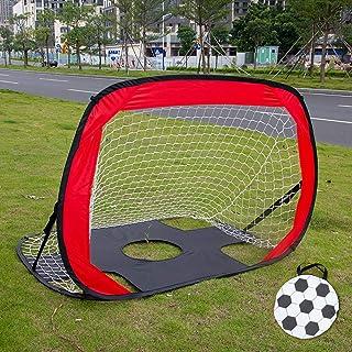 But de football 2-en-1, But de football pliable et portable/Objectif Quick Up/Objectif de Pop Up Soccer pour les enfants, pour les sports et la pratique en salle