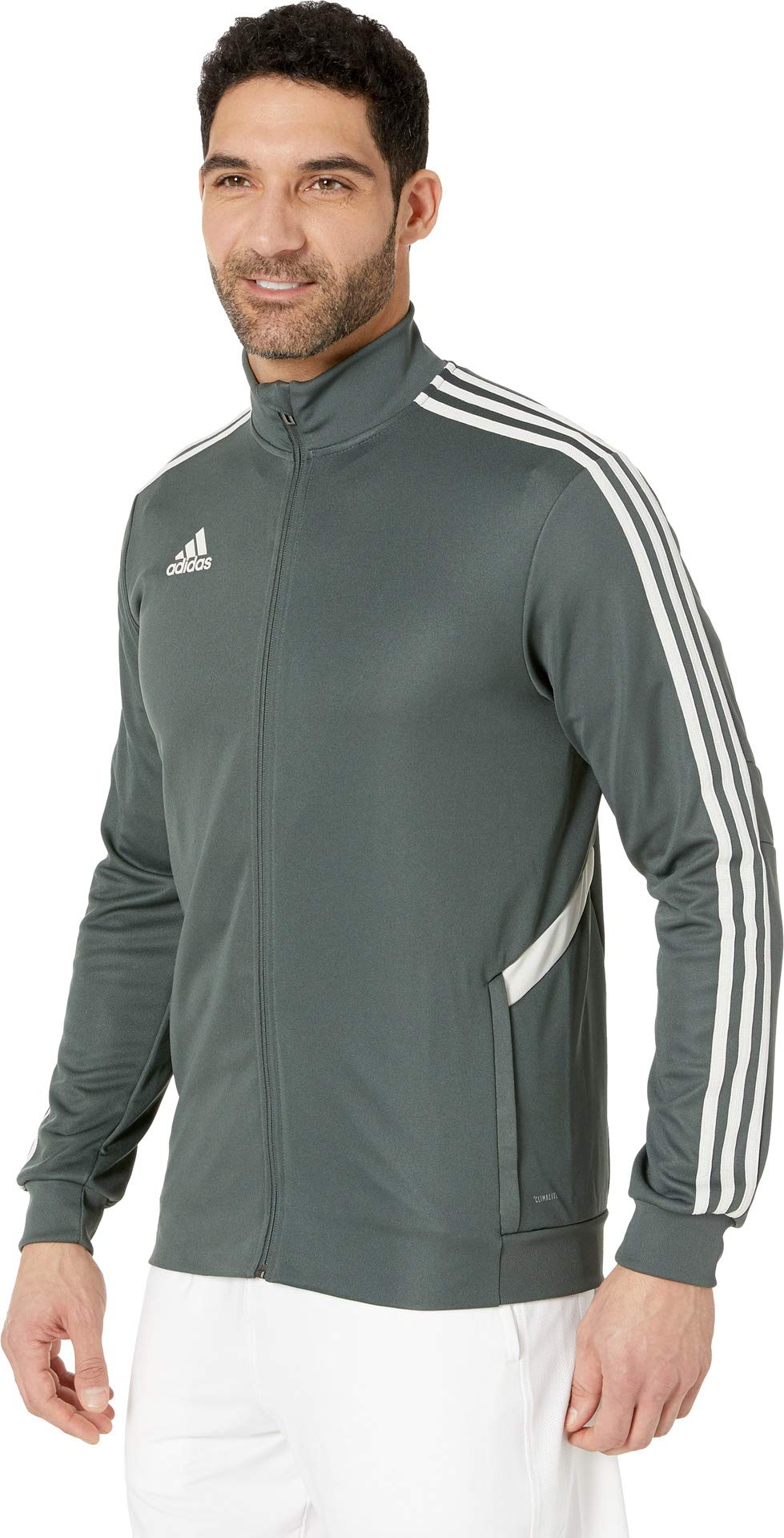 adidas Men's AFS Tiro Track Jacket Legend Ivy/Raw White X-Large by adidas