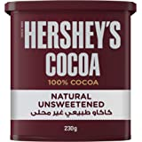 Hershey's Cocoa Natural Unsweetened Powder, 230 gm