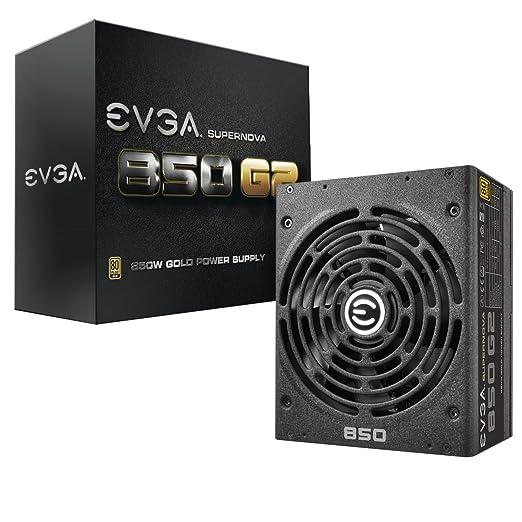 3 opinioni per EVGA SuperNOVA 850W ATX Black power supply unit- power supply units (850 W, 100-
