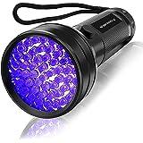 UV Flashlight Black Light , Vansky 51 LED Blacklight Pet Urine Detector for Dog/Cat Urine,Dry Stains,Bed Bug, Matching with P