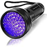 Vansky® 51 LEDs Blacklight Flashlight Pets Ultra Violet Urine and Stain Detector,Find Dry Stains on Carpets, Rugs, Floor