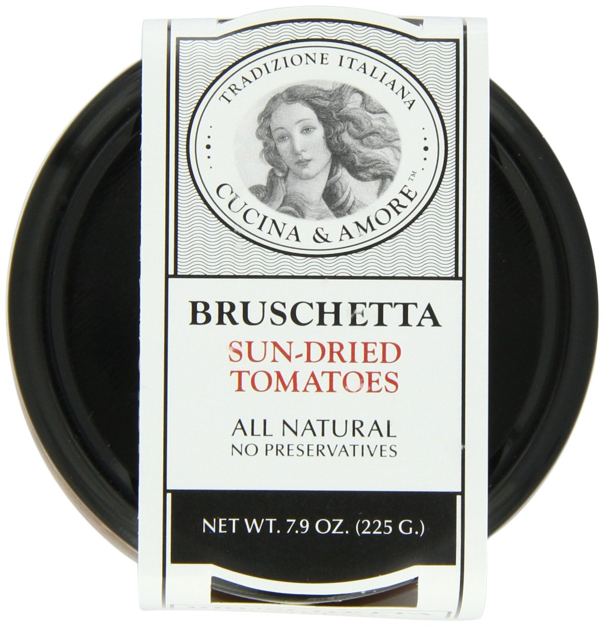 Cucina & Amore Bruschetta Sun-Dried Tomatoes, 7.9 Ounce by Cucina & Amore