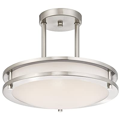 Light Blue™ LED Semi Flush Mount Ceiling Fixture