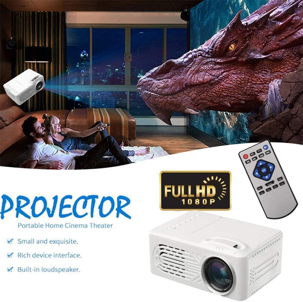 TOPmountain Proyector De Película del Proyector De 4K 3D 1080P HD ...