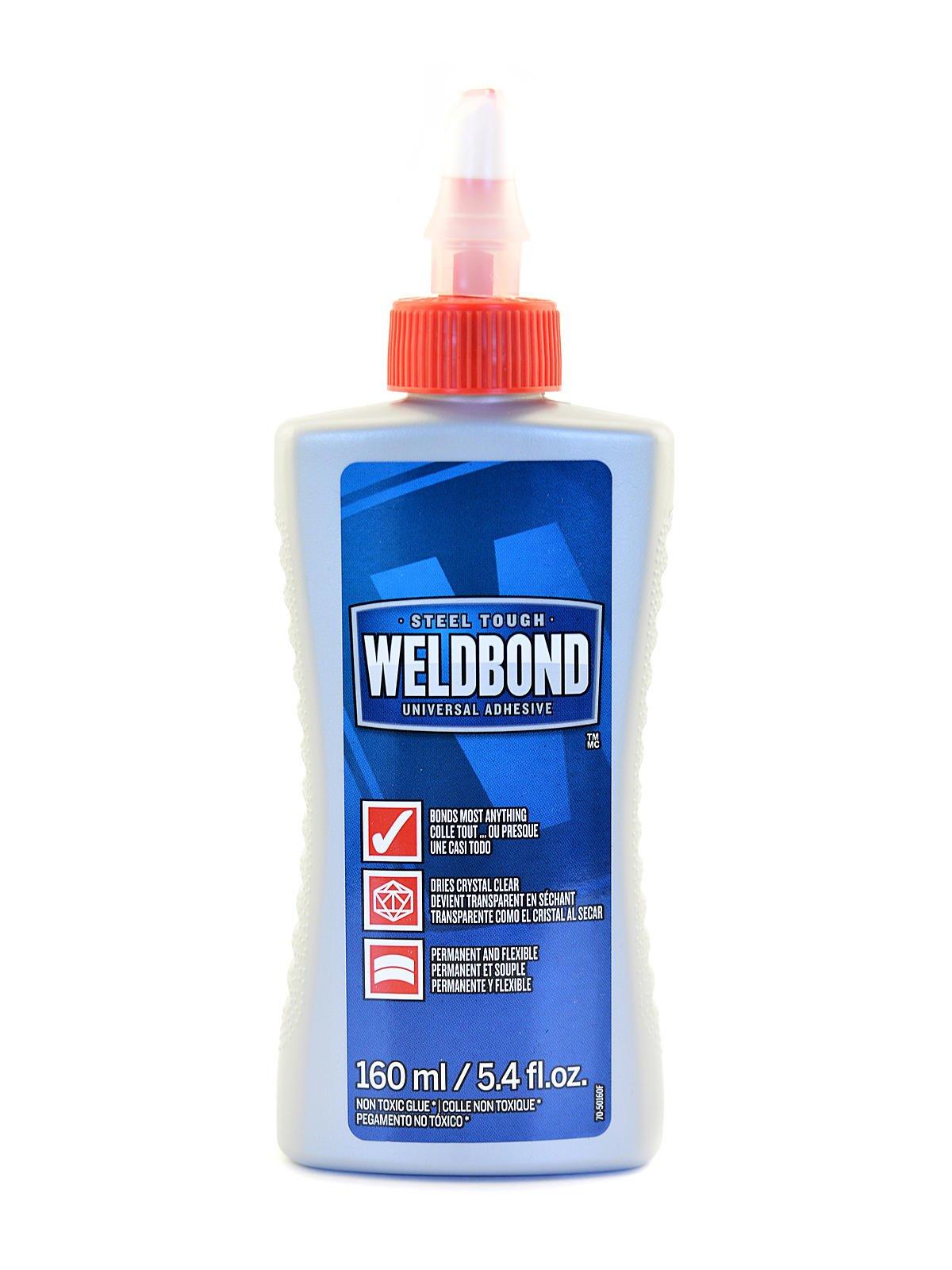 Weldbond Universal Adhesive 5.4 oz. bottle [PACK OF 6 ] by Weldbond