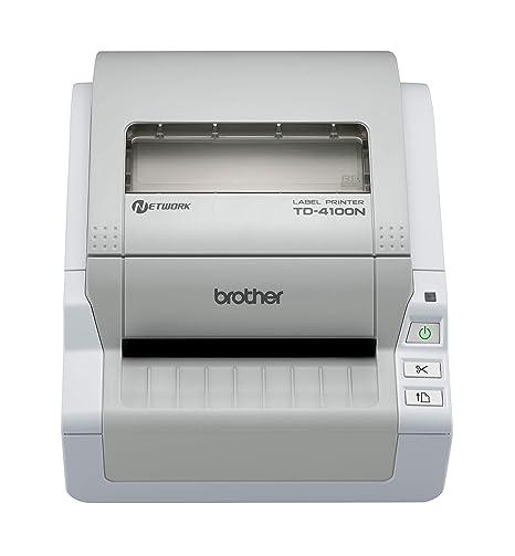 Brother TD-4100N - Impresora de Etiquetas (300 x 300 Pixeles ...
