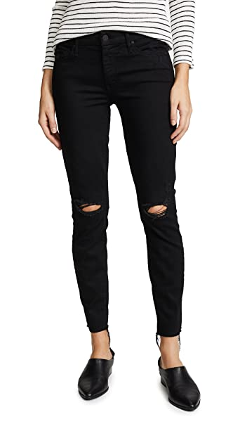1c5ba6f63874 Mother Women s The Looker Frayed Ankle Jeans