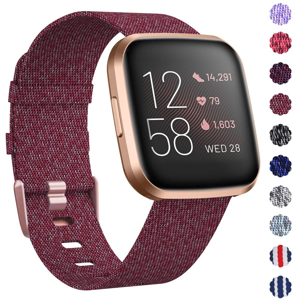 Malla Reloj Fitbit Versa/fitbit Versa 2 (bordo rose Gold)