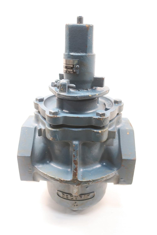 DEZURIK 9070598R008 PEC Iron Threaded Plug Valve 4IN 175CWP D590506