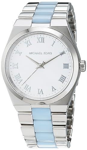 86bc408baa08 Michael Kors Women s Quartz Watch MK6150 with Metal Strap  Amazon.co.uk   Watches
