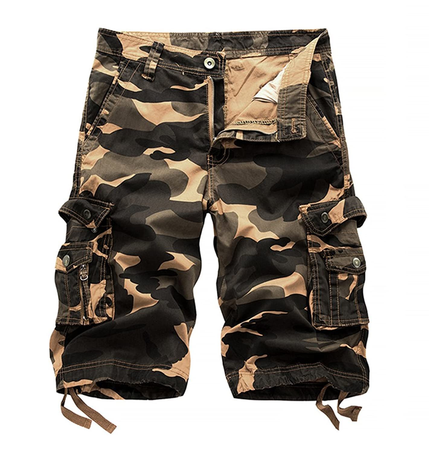 533f63528c Online Cheap wholesale Sunnywood Mens Cargo Shorts Camo Casual Multi-Pocket  Cotton Work Shorts Slim Fit Cargo Suppliers
